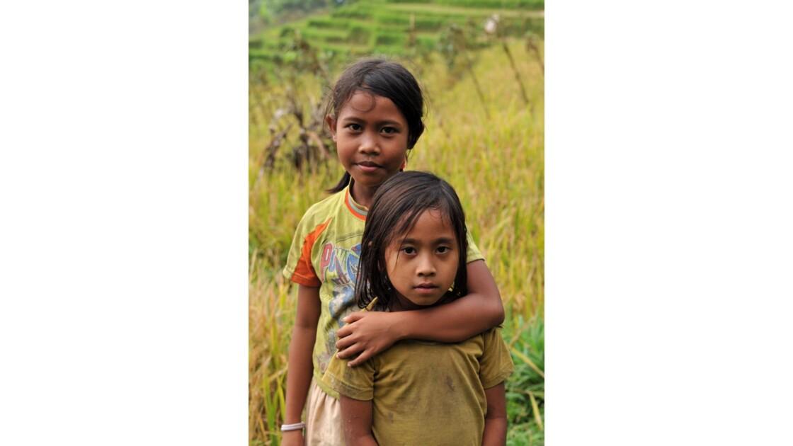 Enfants des rizieres Bali