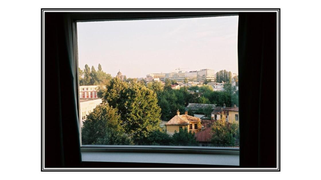La chambre d'Hotel de Bucarest