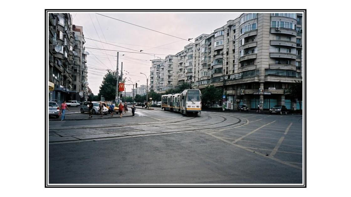Le tramway de Bucarest