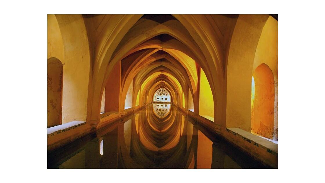 Les bains de la reine - Alcazar de Sevi