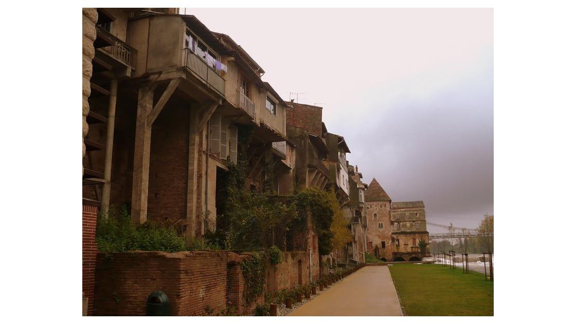 Villemur / Tarn, les Quais