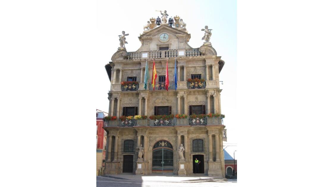 hotel de ville de Pamplona