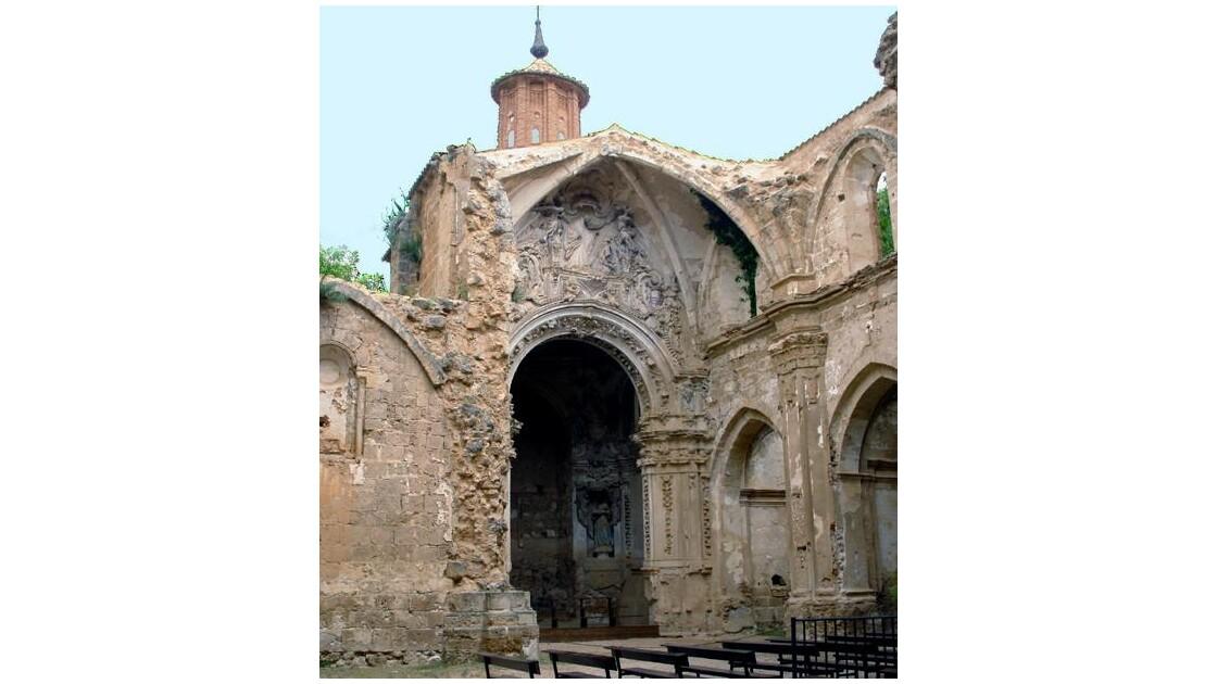 Porterie du Monastère dela Piedra