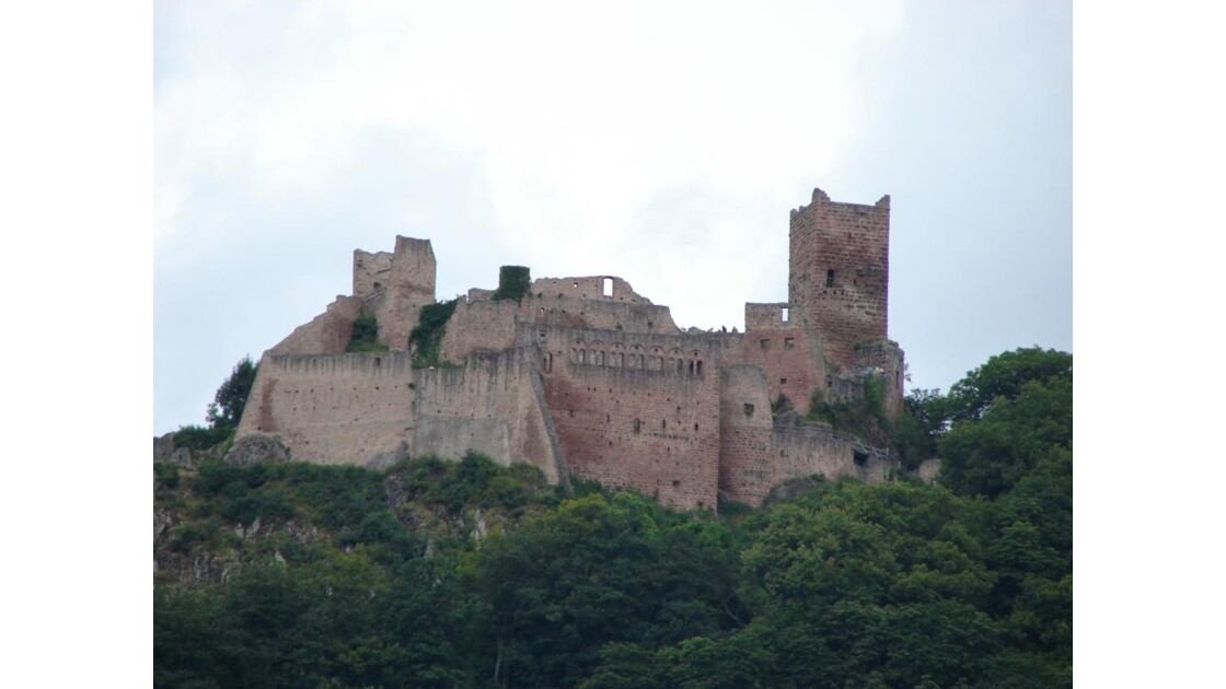 Château de St Ulrich (Ribeauvillé)