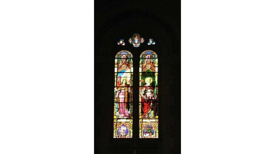 Un des vitraux
