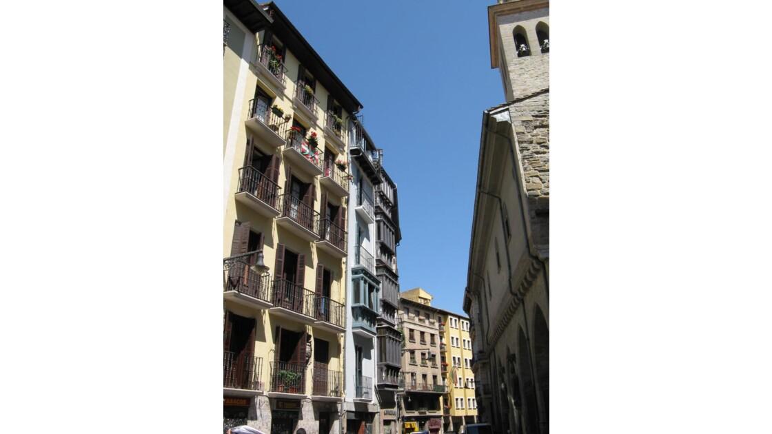 rues,maisons Pamplona