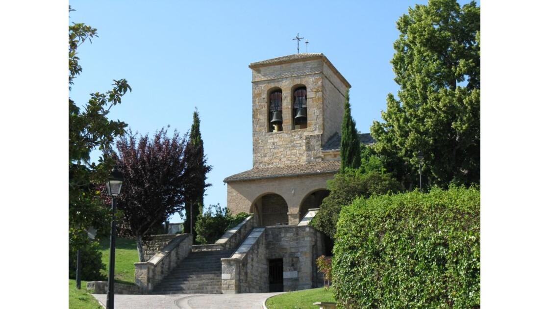 eglise romane SanJuan à Cizur Menor