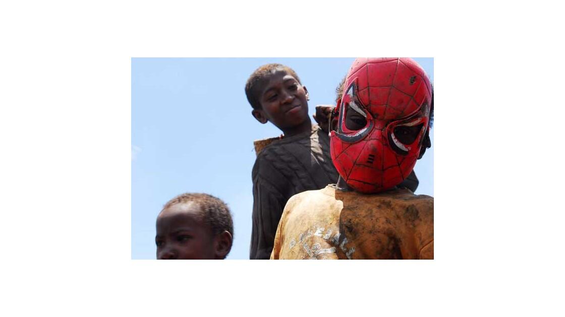 Spiderman à Madagascar