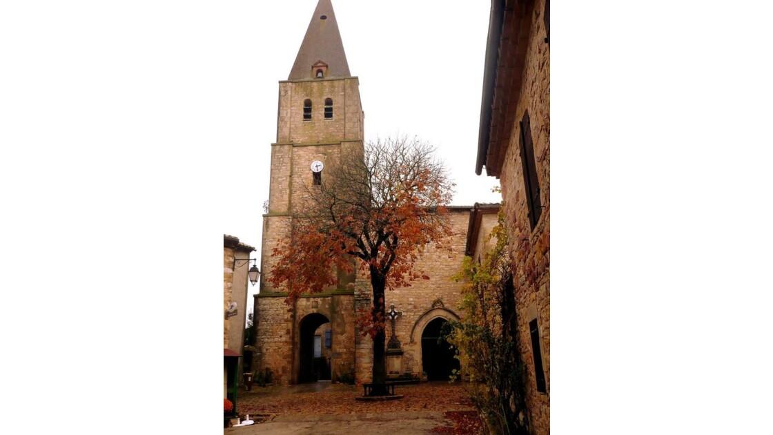 l'église et la place!