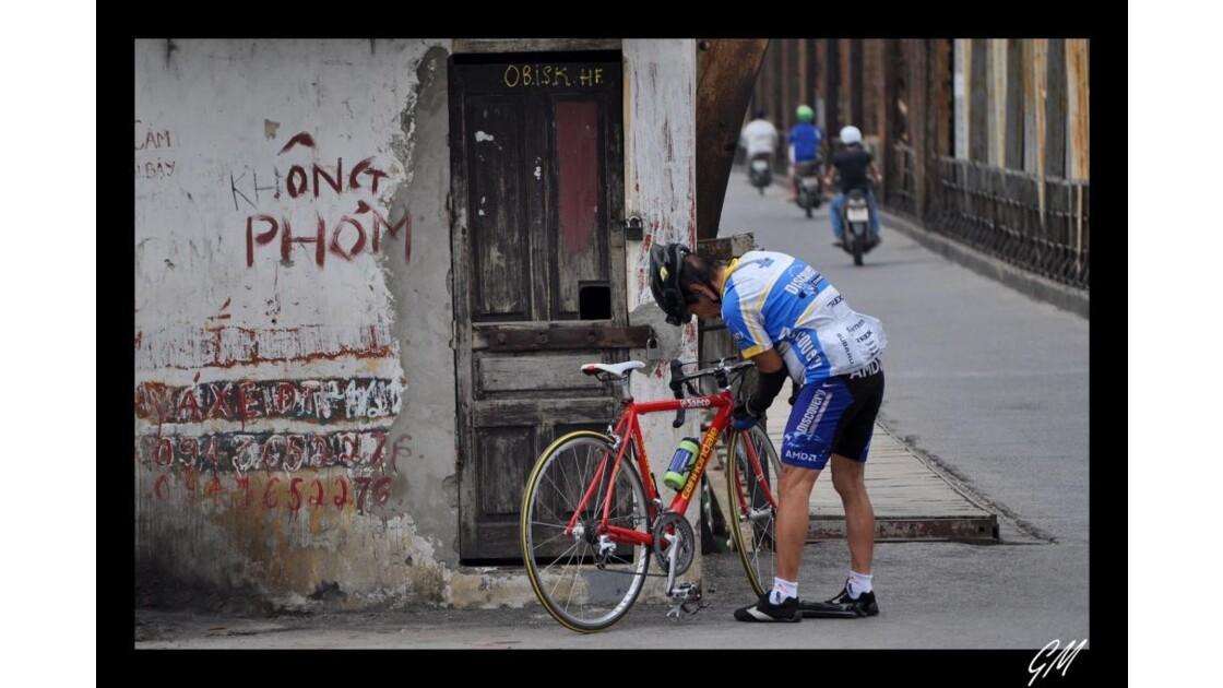 Cycliste Vientnamien.