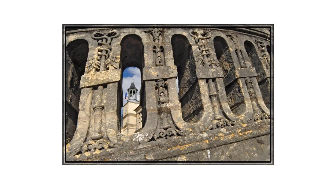 Dentelle de l'escalier de Fontainebleau