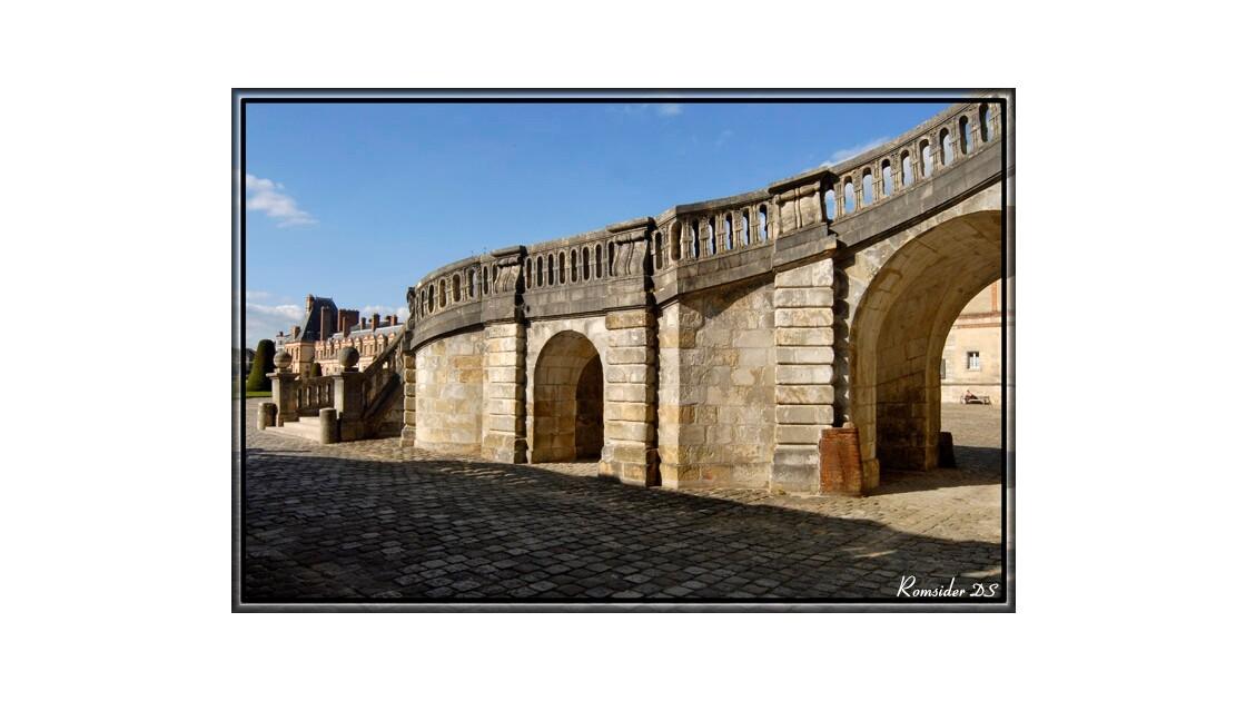 Descente de l'escalier de Fontainebleau