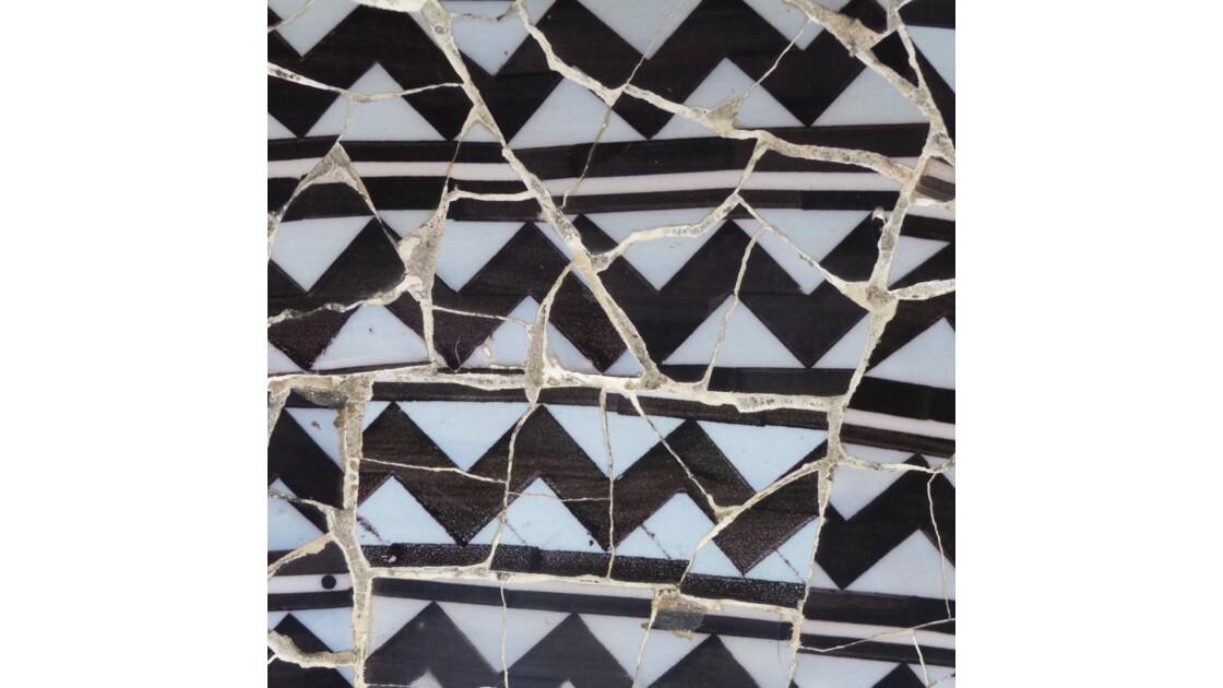Gaudi : mosaique murale