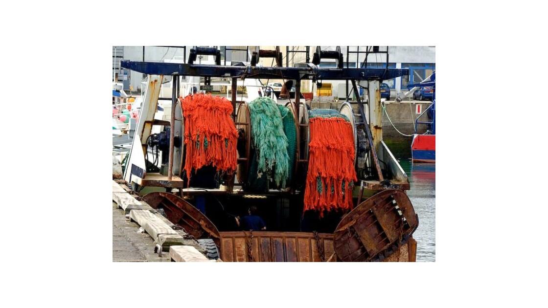 Bateau de pêche Douarnenez