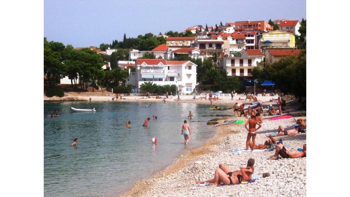 Croatie Primosten Plage