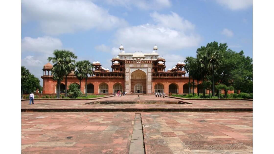 Mausolée d'Akbar à Sikandra - Inde