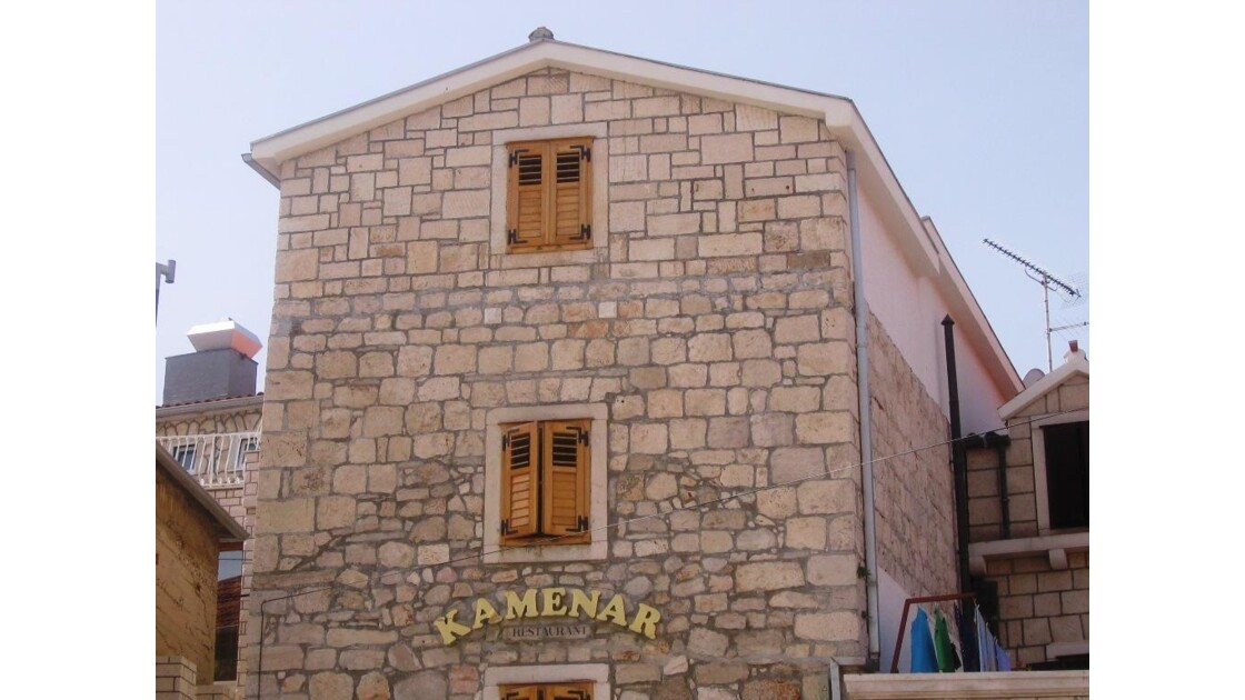Croatie Primosten Restaurant