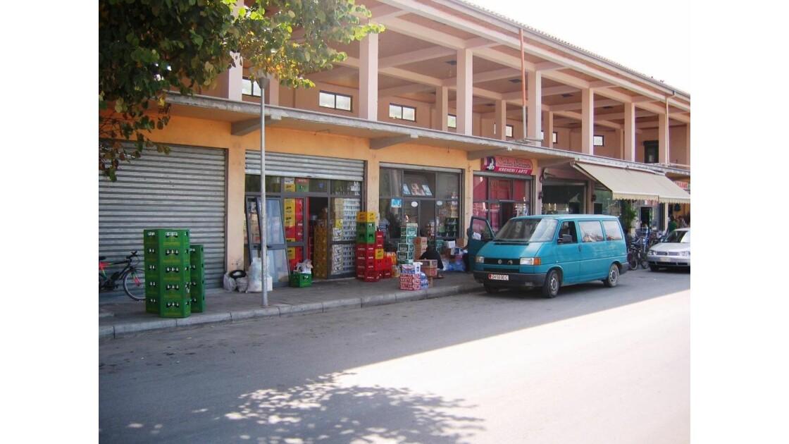 Albanie Shkoder Commerces
