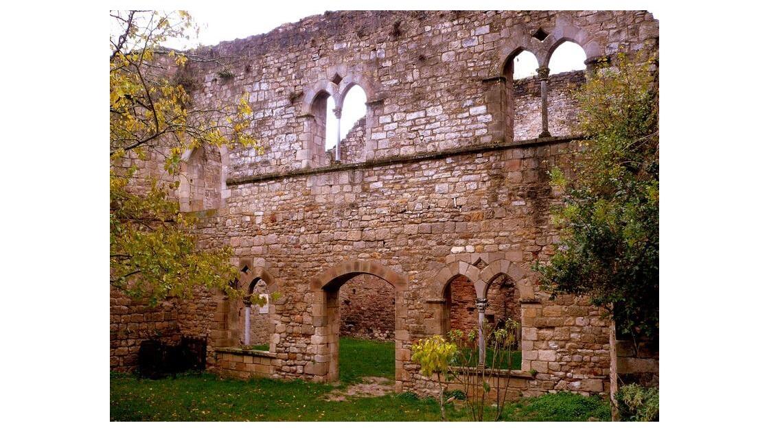 la salle des chevaliers XIIe et XIIIe s