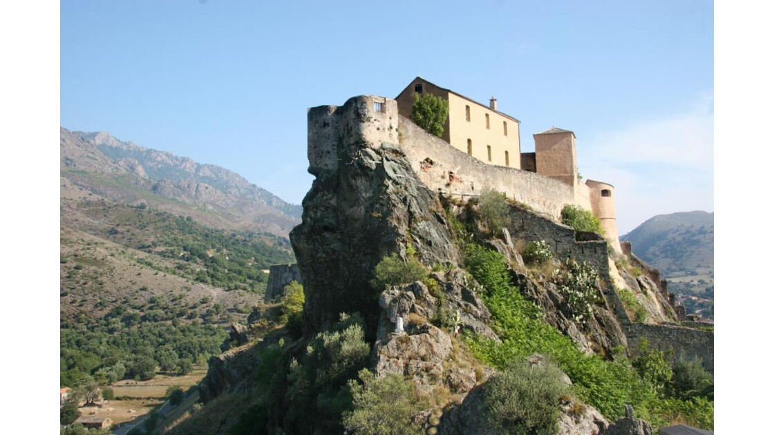 Citadelle de Corte, Haute-Corse