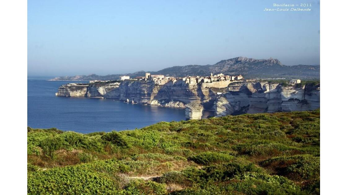 Bonifacio et sa falaise, Corse-du-Sud