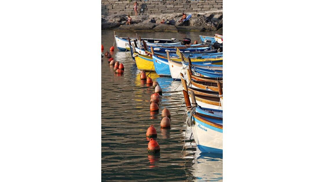Port de Vernazza dans les Cinque Terre