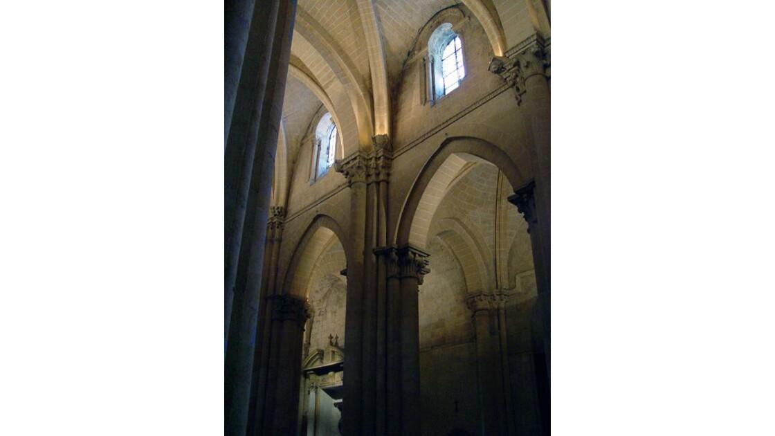 Salamanque intérieur cathédrale nouvell