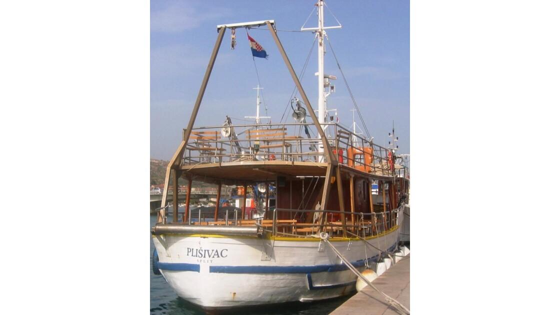 Croatie Trogir Bateau de Promenade