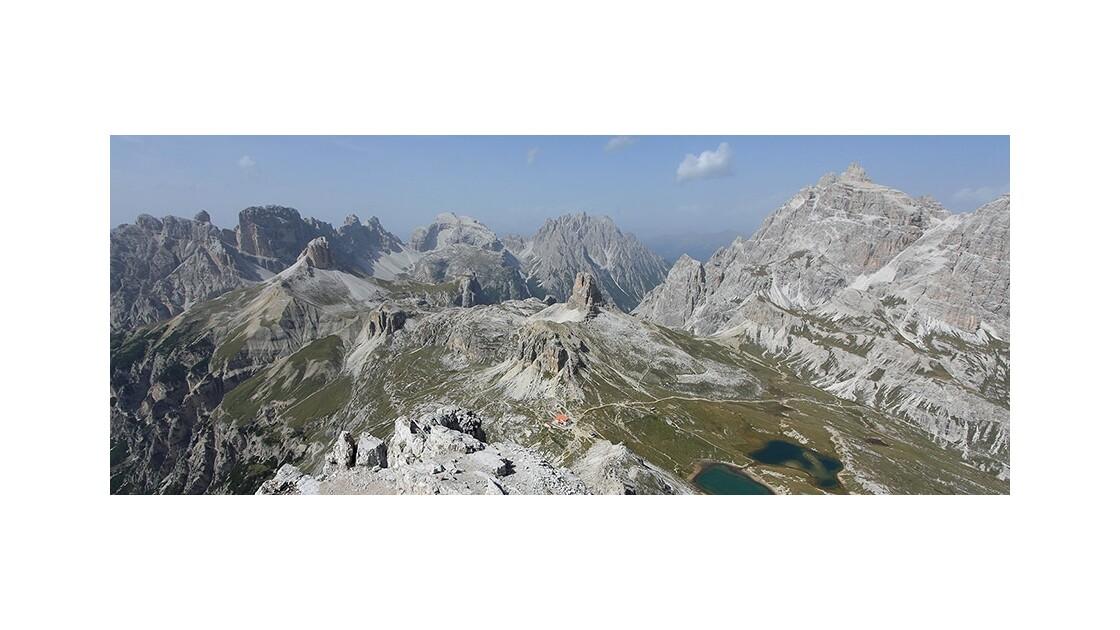 Vue depuis le Monte Paterno
