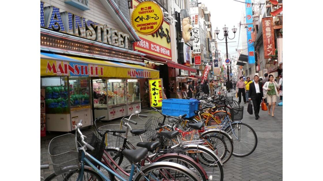 rue pietonne et cycliste