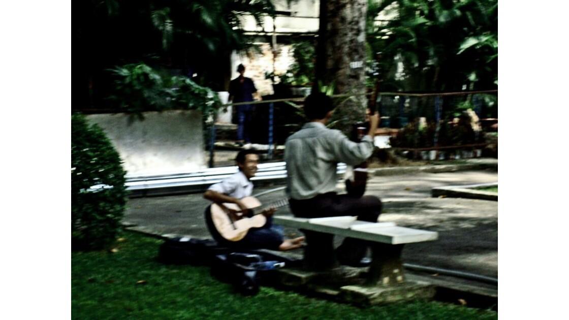 La guitare.