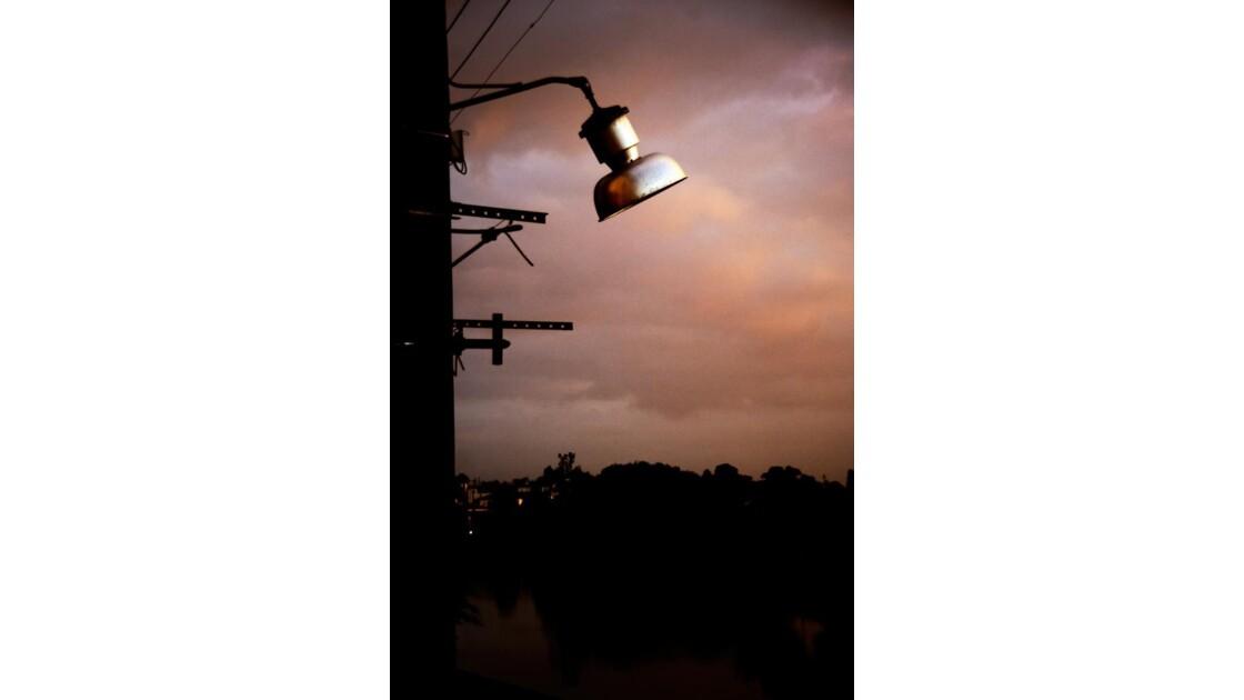 Le vieux lampadaire