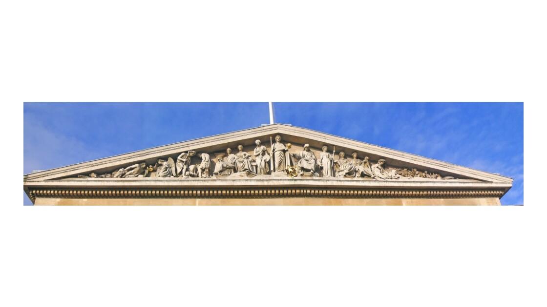 Fronton du British Museum