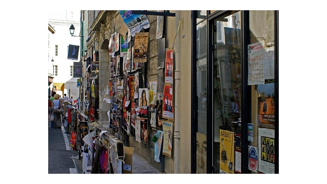 Avignon ambiance festival