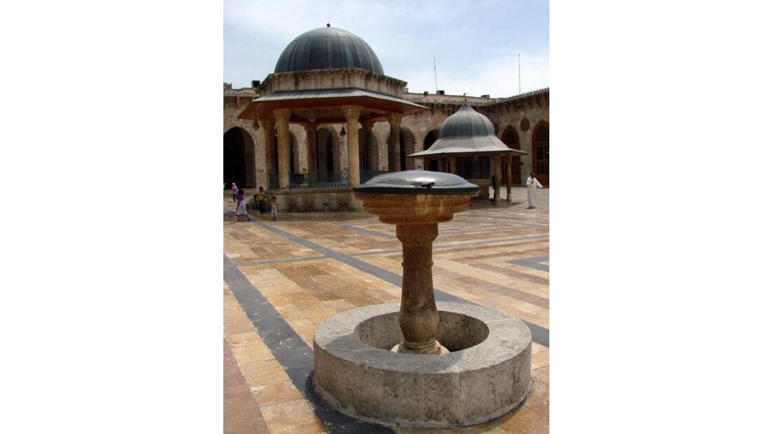 Alep Grande mosquée - la cour