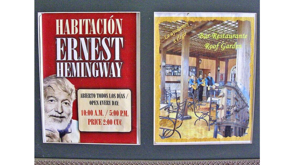 hôtel Ambos Mundos (Ernest Hemingway)
