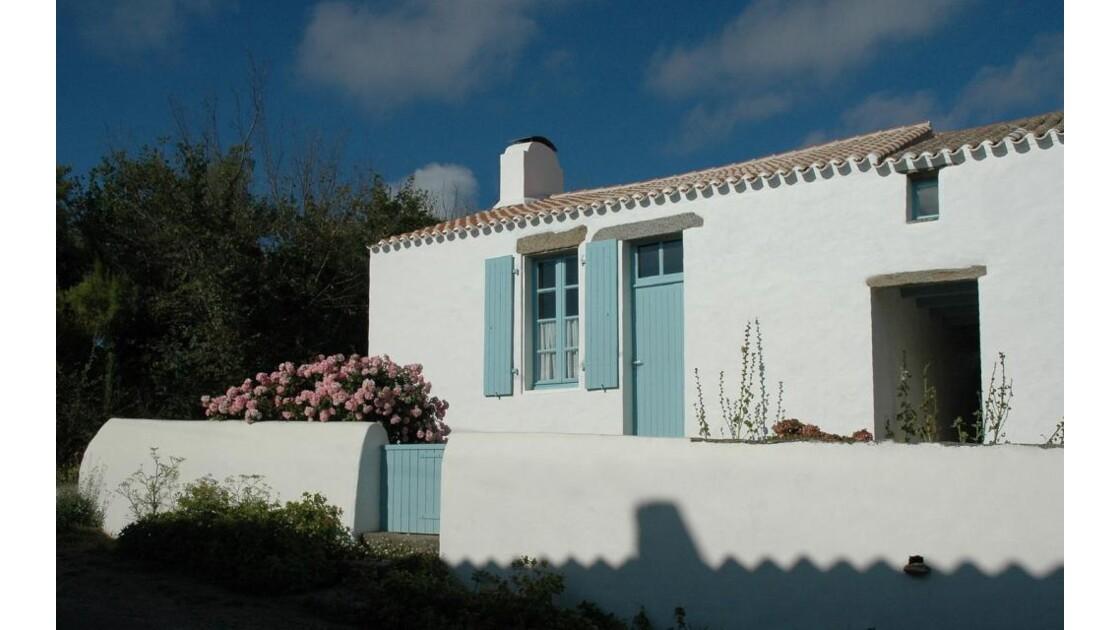 Île d'Yeu, maison à la Meule