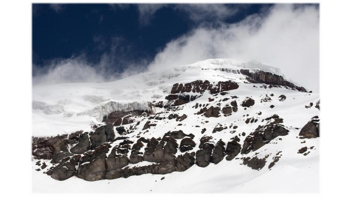 Chimborazo, vers le sommet