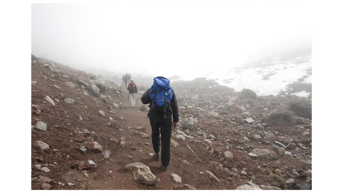 Montée au Chimborazo