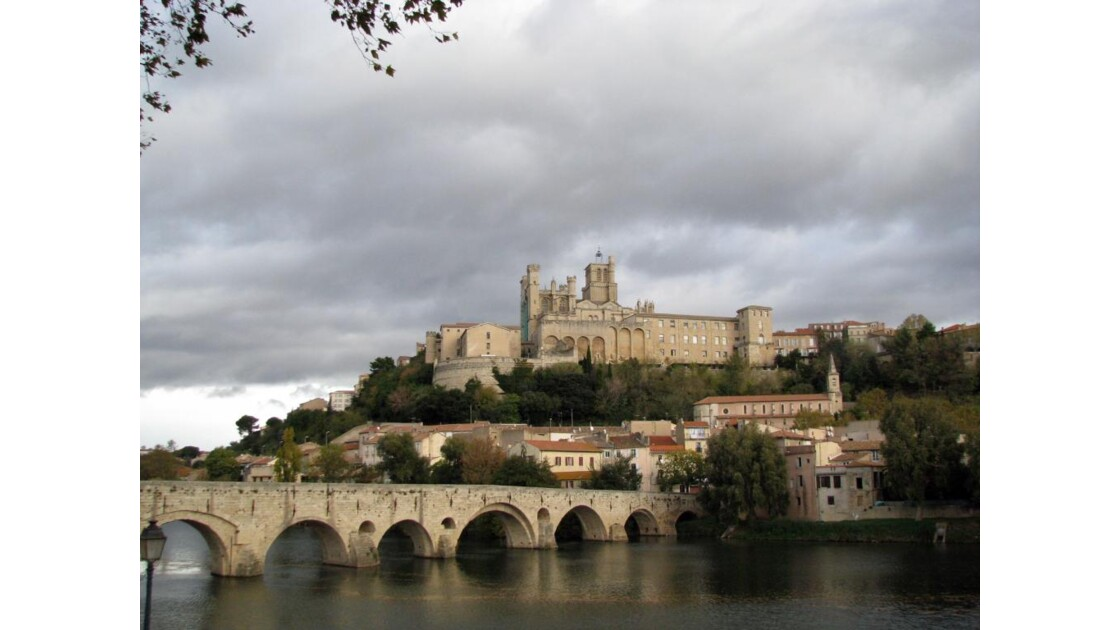 Béziers: pont sur l'Orb