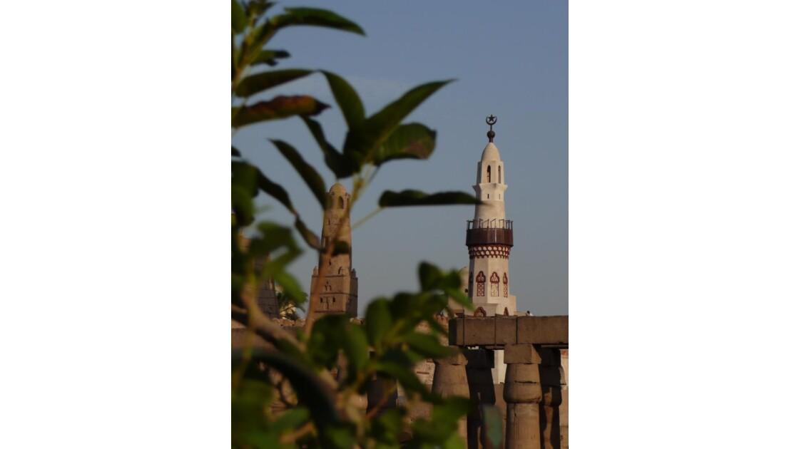Louxor : la mosquée de Abou el