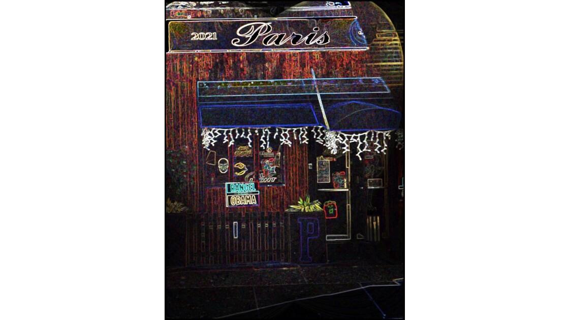 Café parisien au sein de NYC