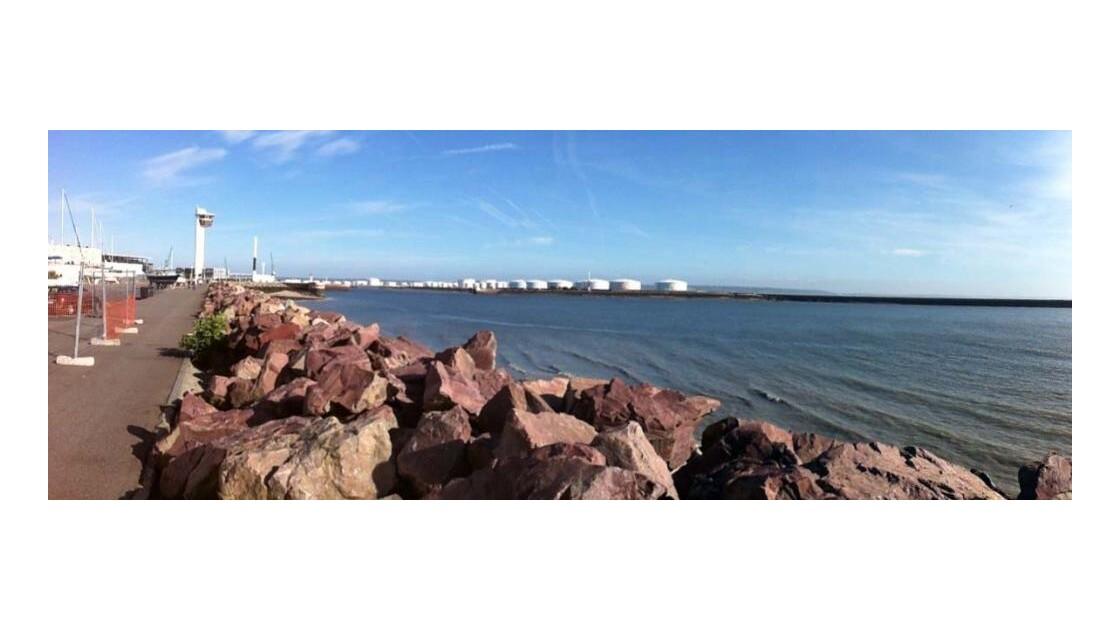 Entrée port du Havre