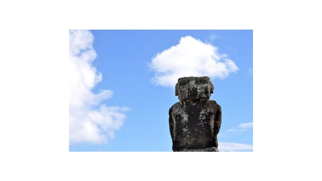 Moai et son nuage