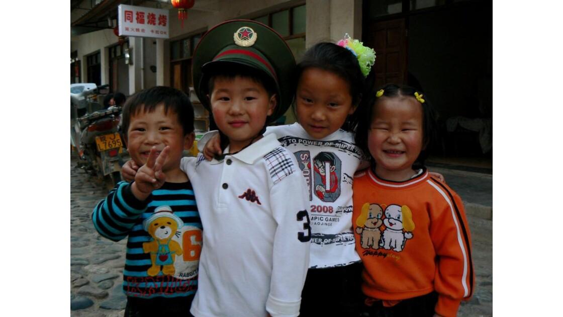 Enfants - Zhaji - Chine