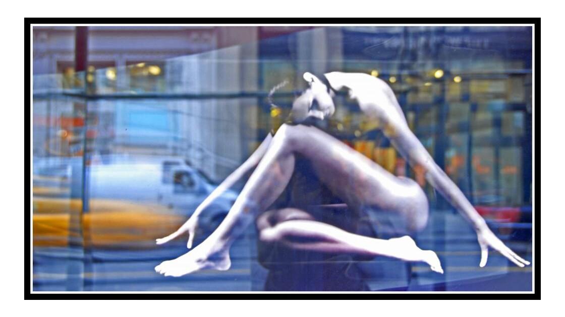 Photo de photo en vitrine 5th Avenue