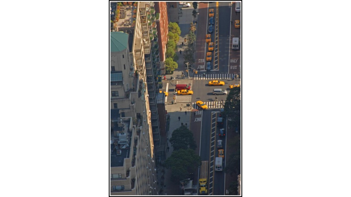 Vue de NYC à 320m de haut!