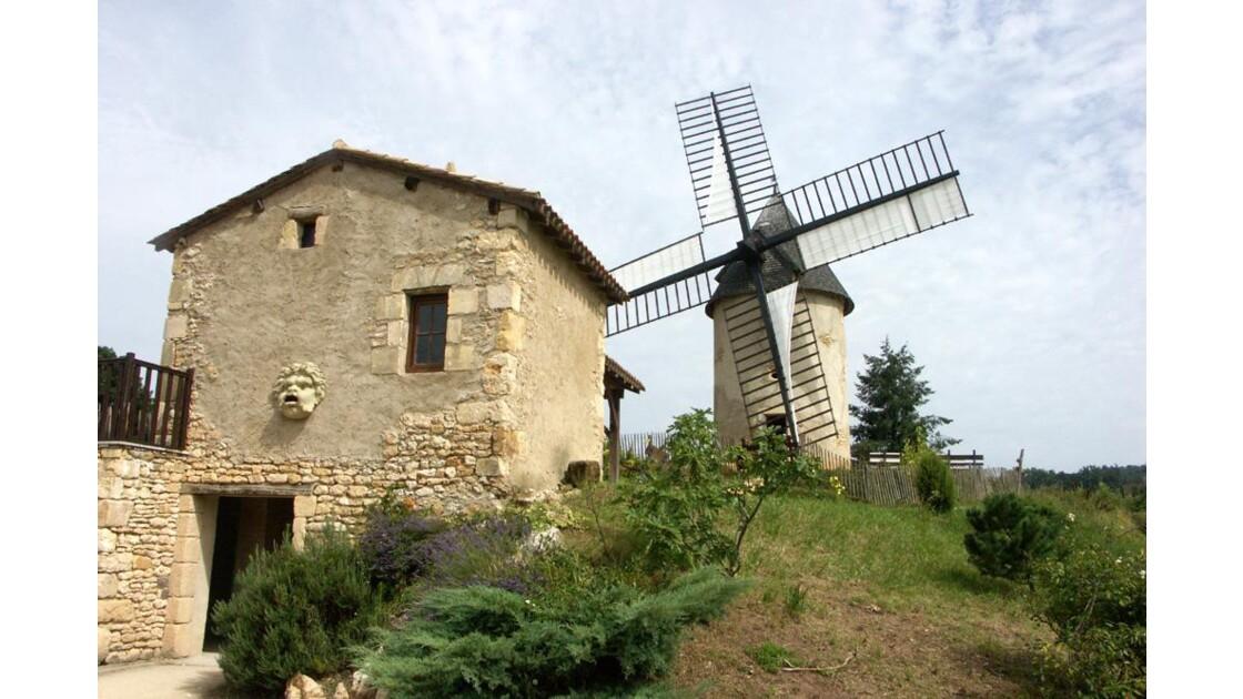 Moulin et Maison