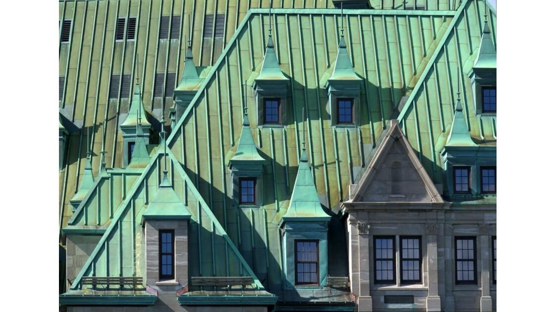 Québec - Toit de la gare du palais