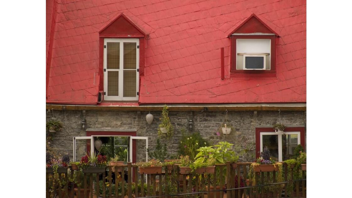 Québec - Les toits rouges